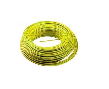 Donne vd draad geel/groen 2.5mm2