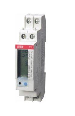 Kwh meter DIN C11 230V 40amp.