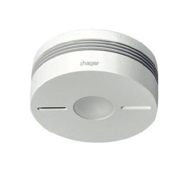 Hager rookmelder TG550A wit 6V