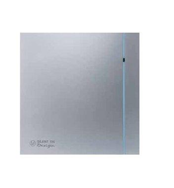 S&P design ventilator 100mm + naloop zilver